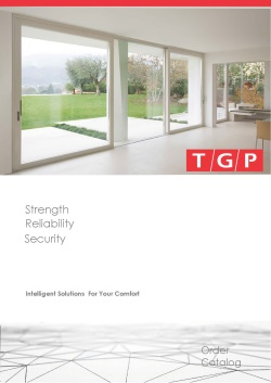 TGP FELIX Lift and Slide Systems