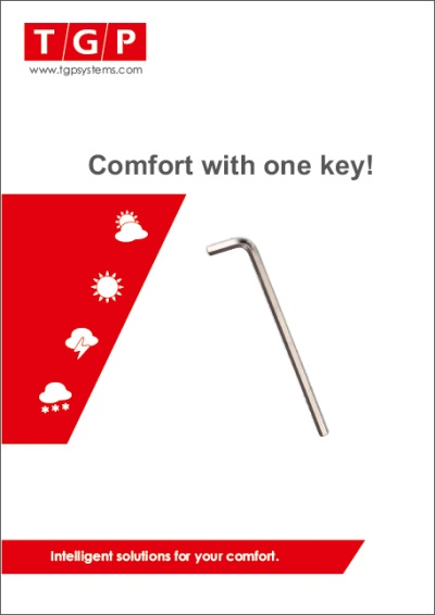 Comfort with one key!