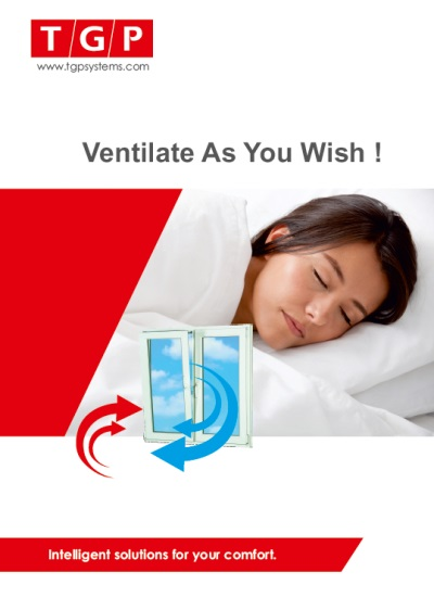 Ventilate as you wish!
