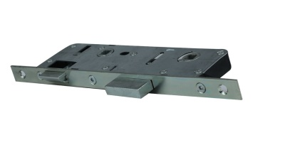 TGP Focus WC/Bathroom Mortise Lock, PVC /T-53000-90-20-1