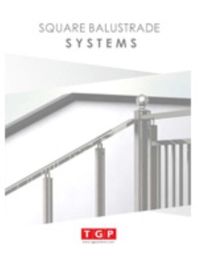 TGP Aluminium Handrail Square System