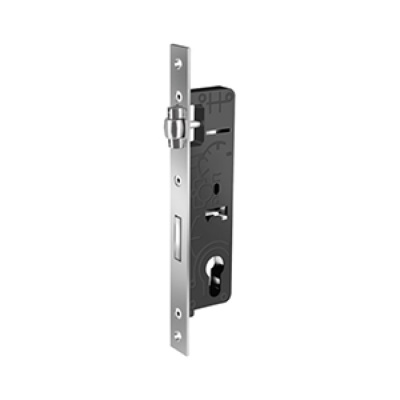 Cylindirical Mortise Lock (with roller) Aluminum / T-61500-00-35-1