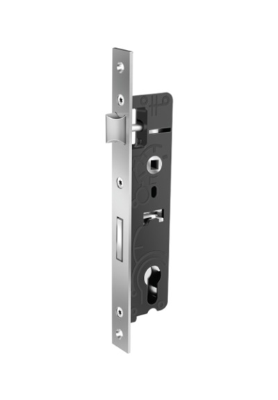 Cylindirical Mortise Lock (with bolt)  ALU  / T-61200-85-X-1