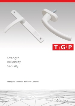 TGP FORA Aluminum Window & Door Handles