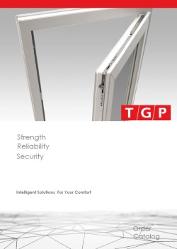TGP FORTE Tilt & Turn Systems