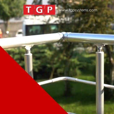 Glass Channel Balustrade